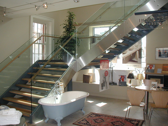 Sample Product: Commercial Staircases Click For Slideshow