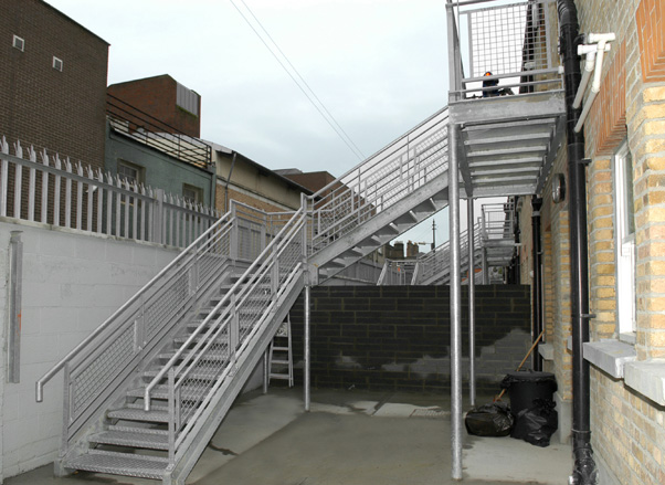 Alert Engineering Bespoke And Custom Staircases Fire